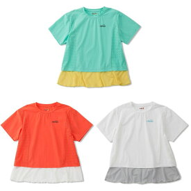 エレッセ Ellesse テニスウェア レディース SSパンチングクロップシャツ EW00115 2020SS 4月発売予定※予約 [ポスト投函便対応]