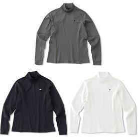 エレッセ Ellesse テニスウェア レディース Heat Knit Tuetle ヒートニットタートルネックシャツ EW00312 2020FW