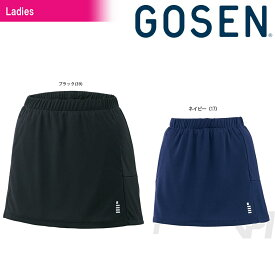 GOSEN(ゴーセン)「Women's レディース スカート(インナースパッツ付き)S1601」テニスウェア「2016FW」【prospo】
