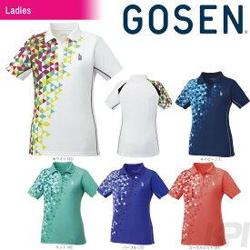 GOSEN(ゴーセン)「レディース ゲームシャツ T1713」テニスウェア「2017FW」[ポスト投函便対応]