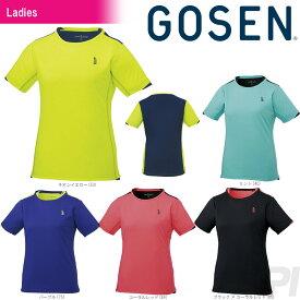 「2017新製品」GOSEN(ゴーセン)「レディース ゲームシャツ T1719」テニスウェア「2017FW」[ポスト投函便対応]