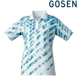 ゴーセン GOSEN テニスウェア レディース ゲームシャツ T1815 2018FW[ポスト投函便対応]