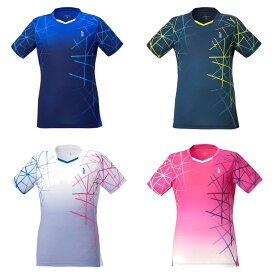 ゴーセン GOSEN テニスウェア レディース レディースゲームシャツ T2043 2020FW [ポスト投函便対応]