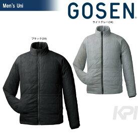 GOSEN(ゴーセン)「UNI アイダーウォームスジャケット Y1612」テニスウェア「FW」【KPI】