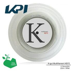 【エントリーでポイント10倍▼〜10/1 9:59】『即日出荷』 KPI(ケイピーアイ)「K-gut Multifilament KB70 200mロール」バドミントンストリング(ガット)「あす楽対応」【prospo】 KPIオリジナル商品[ポスト投函便対応]