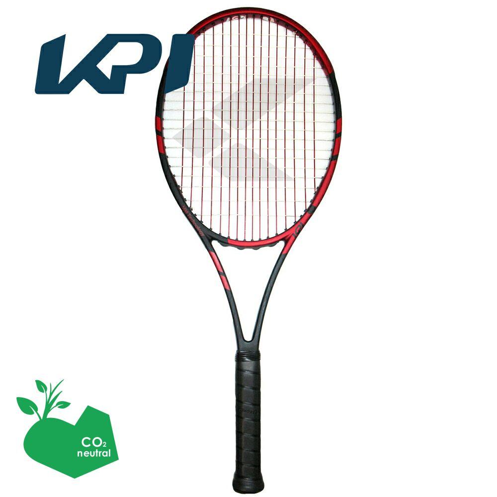 【スポーツタオルプレゼント】KPI(ケイピーアイ)「K tour 322-Black/orange」硬式テニスラケット【prospo】