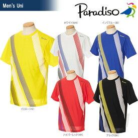 PARADISO(パラディーゾ)「メンズ 半袖ゲームシャツ 97CM3A」テニスウェア「2017SS」[ネコポス可]