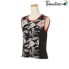 パラディーゾ PARADISO テニスウェア レディース 半袖シャツ KCL63A 2018FW[ポスト投函便対応]