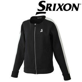 【エントリーでポイント14倍〜▲7/4〜11】「あす楽対応」スリクソン SRIXON テニスウェア レディース フリースジャケット SDF-5860W SDF-5860W 2018FW 『即日出荷』