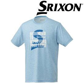 【エントリーでポイント14倍〜▲7/4〜11】「あす楽対応」スリクソン SRIXON テニスウェア ユニセックス Tシャツ SDL-8840 SDL-8840 2018FW[ポスト投函便対応] 『即日出荷』