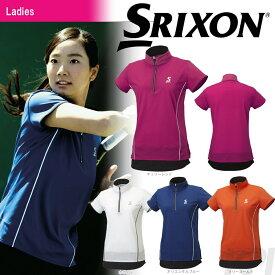 「あす楽対応」SRIXON(スリクソン)「WOMEN'S レディース TOUR LINE ジップシャツ SDP-1761W」テニスウェア「FW」[ポスト投函便対応] 『即日出荷』