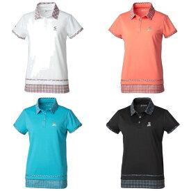 「あす楽対応」スリクソン SRIXON テニスウェア レディース ポロシャツ SDP-1963W 2019FW [ポスト投函便対応] 『即日出荷』