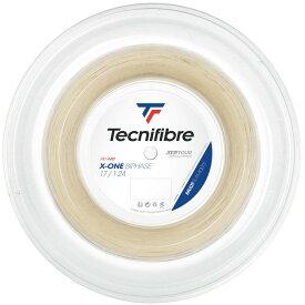【エントリーでポイント10倍】テクニファイバー Tecnifibre テニスガット・ストリング X-ONE BIPHASE (エックスワンバイフェイズ) 1.24mm 200mロール TFR201
