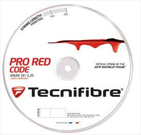 「あす楽対応」【新パッケージ】Tecnifibre(テクニファイバー)【PRO REDCODE(プロ レッドコード) 200mロール TFR500】硬式テニスストリング(ガット)【prospo】 『即日出荷』