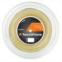 「新パッケージ」Tecnifibre(テクニファイバー)「TGV(ティージーブイ) 200mロール TFR907」硬式テニスストリング(ガット)