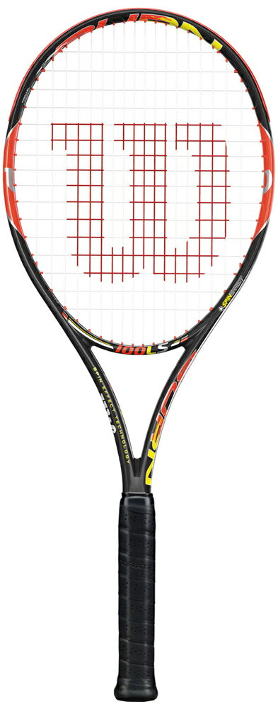 Wilson(ウイルソン)「BURN 100LS(バーン100LS) WRT725520」硬式テニスラケット(スマートテニスセンサー対応)【prospo】