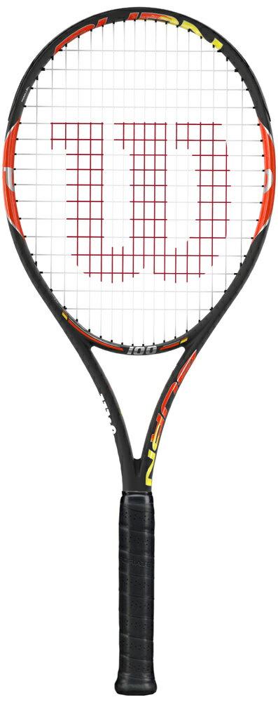 『即日出荷』 Wilson(ウイルソン)「BURN 100(バーン100) WRT727020」硬式テニスラケット(スマートテニスセンサー対応)「あす楽対応」【prospo】