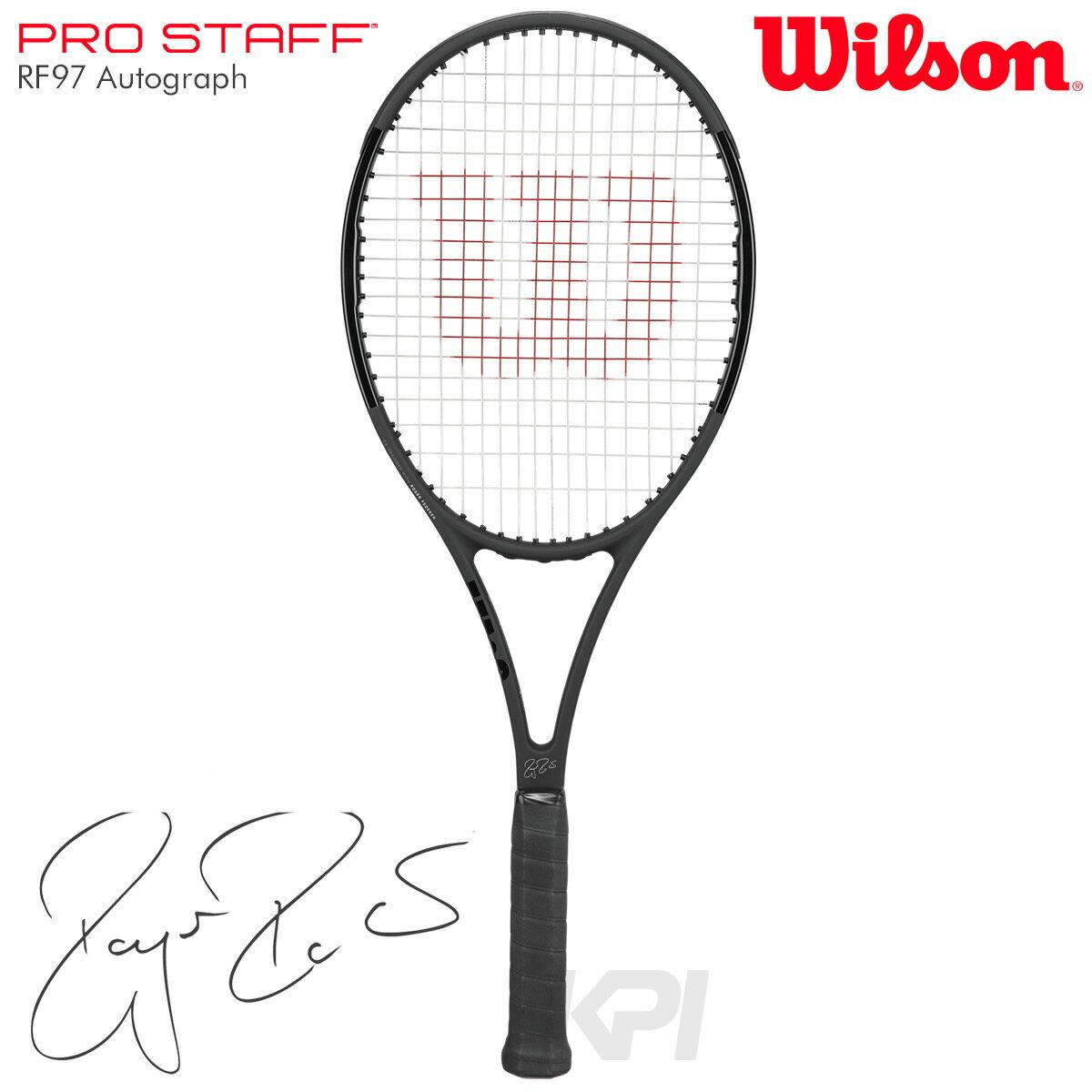 『即日出荷』 「2017モデル」Wilson(ウイルソン)「PRO STAFF RF97 Autograph(プロスタッフ97RFオートグラフ) WRT731410」硬式テニスラケット(スマートテニスセンサー対応)「あす楽対応」【prospo】