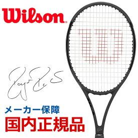 ウイルソン Wilson 硬式テニスラケット 2019 PRO STAFF RF97 Autograph Black in Black プロスタッフ RF 97 オートグラフ WRT73141S