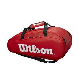【エントリーでポイント10倍▼〜10/1 9:59】「あす楽対応」ウイルソン Wilson テニスバッグ・ケース TOUR 2 COMP RED LARGE WRZ848909 『即日出荷』