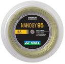 「新色登場」YONEX(ヨネックス)「ナノジー95(NANOGY 95)[200mロール] NBG95-2」バドミントンストリング(ガット)【smtb-k】【kb】【prospo】