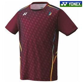 「あす楽対応」 ヨネックス YONEX バドミントンウェア メンズ ゲームシャツ(フィットスタイル) リン・ダン選手モデル 10296Y-021 2018FW 『即日出荷』 夏用 冷感