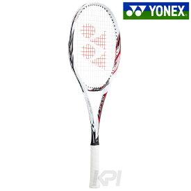 【エントリーでポイント10倍】YONEX(ヨネックス)「ジーエスアール7(GSR7) ホワイト×レッド GSR7-114」ソフトテニスラケット