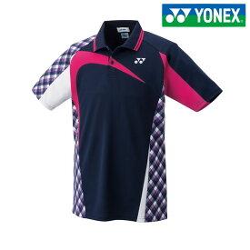 「あす楽対応」ヨネックス YONEX テニスウェア ユニセックス ユニゲームシャツ 10268-019 2018SS[ポスト投函便対応] 『即日出荷』
