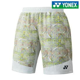 「あす楽対応」ヨネックス YONEX テニスウェア メンズ メンズニットハーフパンツ 15061-011 2018SS[ポスト投函便対応]『即日出荷』