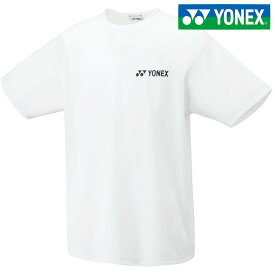 「あす楽対応」ヨネックス YONEX テニスウェア ユニセックス ユニドライTシャツ 16400-011 2018SS[ポスト投函便対応] 『即日出荷』