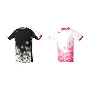 【365日出荷】「あす楽対応」 ヨネックス YONEX バドミントンウェア メンズ ゲームシャツ(フィットスタイル) 10349 2019FW 夏用 冷感『即日出荷』