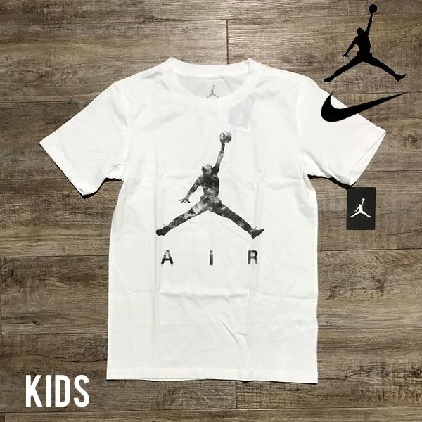 ナイキ 海外モデル エアジョーダン ボーイズサイズ Tシャツ NIKE AIR JORDAN 【1784612664-wht】【選べる福袋対象B】