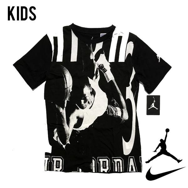 ナイキ 海外モデル エアジョーダン ボーイズサイズ Tシャツ NIKE AIR JORDAN 【3371673742-blk】【選べる福袋対象B】