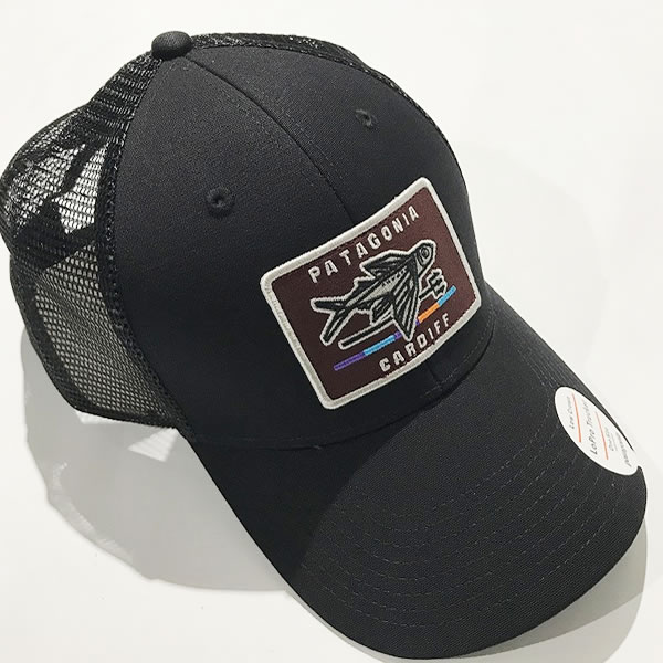 Patagonia(パタゴニア)SHOP ONLY Trucker Hat/カーディフ店限定メッシュキャップ/ブラック