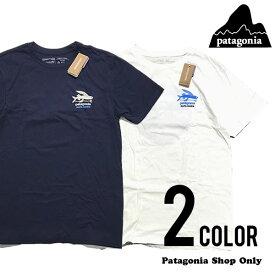 Patagonia パタゴニア サンタモニカ店限定 フライングフィッシュ ロゴ Tシャツ 【38843】