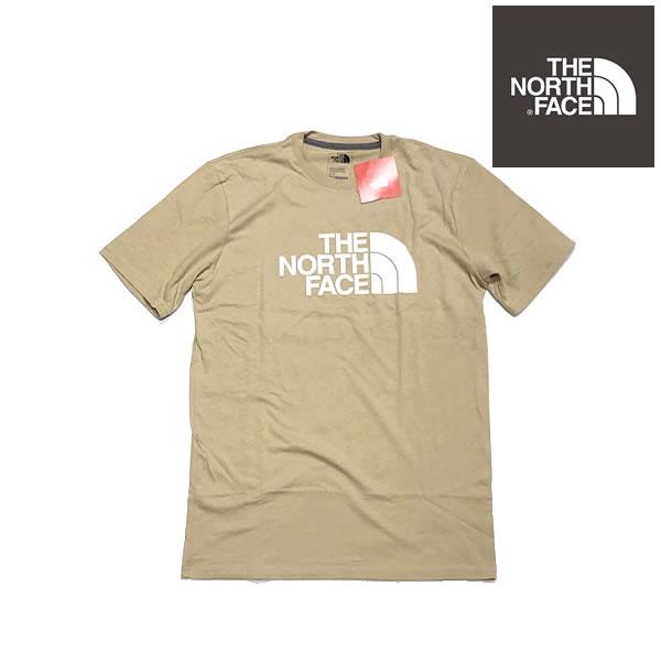 The North Face ノースフェイス US企画 メンズ ハーフドームロゴ Tシャツ ケルプタン系カラー 【9147591768-haw】【選べる福袋対象B】