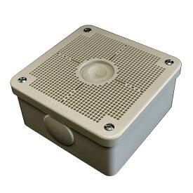 未来工業露出用四角ボックス取付自在蓋グレーPV4B-ANF1