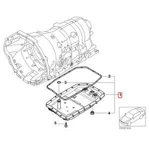 BMWX1/E84X5/E70X6/E71ATオイルパン/オートマオイルパンオイルフィルターASSYガスケット付きGA6HP19Z系ミッション用