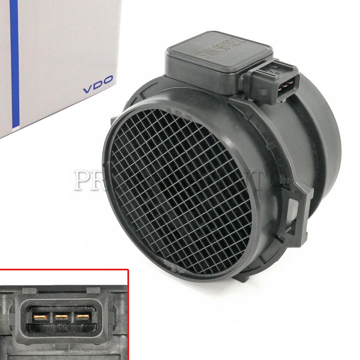 純正OEM VDO製 BMW 3シリーズ E46 エアマスセンサー/エアフロメーター/ホットフィルムエアマスメーター 5WK96132Z 13627567451 330i 330Ci【あす楽対応】