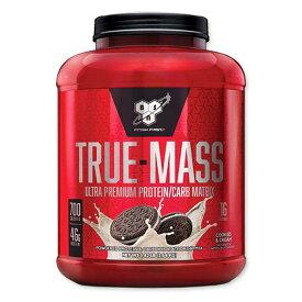 トゥルーマス プロテイン クッキー&クリーム 2.64kg(5.82 lbs)BSN(ビーエスエヌ)筋肉 高カロリー 炭水化物 バルクアップ 増量 タンパク質[送料無料]