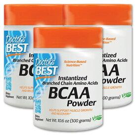 BCAA パウダー 300g サプリメント サプリ ダイエット 健康サプリ BCAA配合 アミノ酸 パウダー Doctor's Best[送料無料]【ポイントUP対象★9/29 18:00〜10/13 13:59迄】