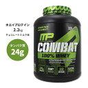 コンバット 100% ホエイプロテイン 2.2kg チョコレートミルクMusclePharm(マッスルファーム)【タンパク質量25g/回、1…
