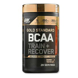 [正規代理店]ゴールドスタンダード BCAA フルーツパンチ 28回分 Optimum Nutrition(オプチマムニュートリション) アミノ酸 パウダー 粉末 サプリメント サプリ