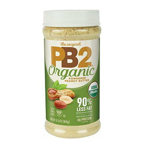 オーガニックピーナッツバターパウダー 184g(6.5oz)パウダー PB2(ピービー2フーズ)