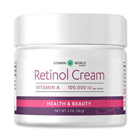 レチノールクリーム 56g Vitamin World(ビタミンワールド)スキンケア 潤い 保湿 若く