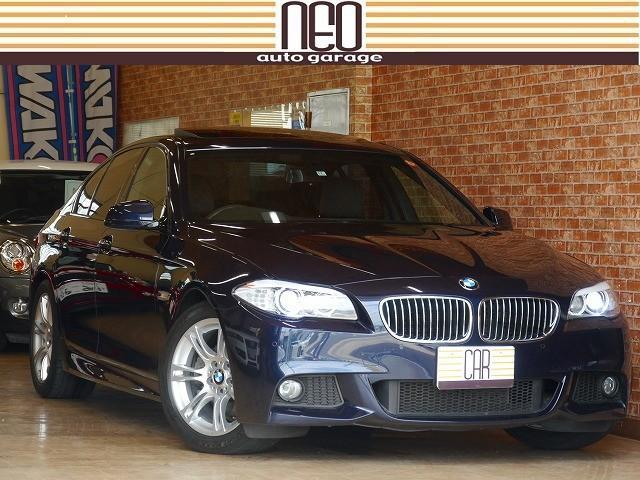 BMW 528i Mスポーツパッケージ 希少色 サンルーフ(BMW)【中古】