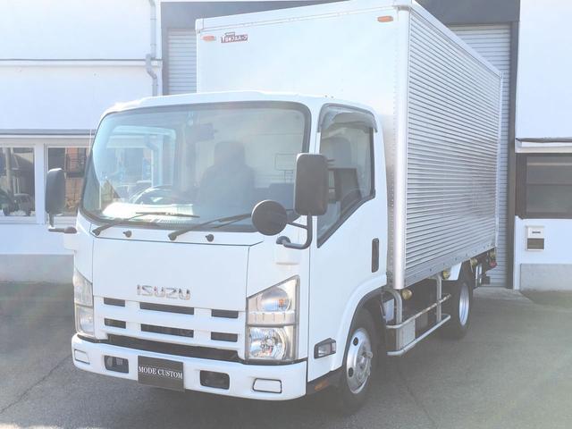 エルフトラック 3トン アルミバン パワーゲート ETC ナビ付(いすゞ)【評価書付】【中古】