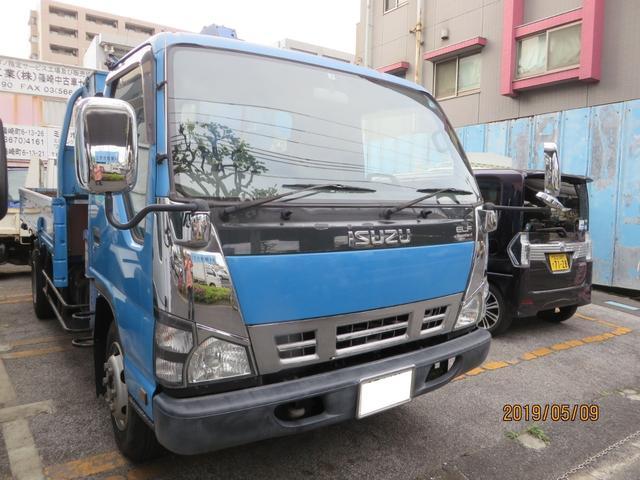 エルフトラック タダノZF293HE 走行20536km ワンオーナー(いすゞ)【中古】
