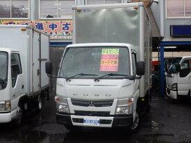 キャンター 1.9t ロングアルミバン左扉付 新普通免許対応車(三菱ふそう)【中古】