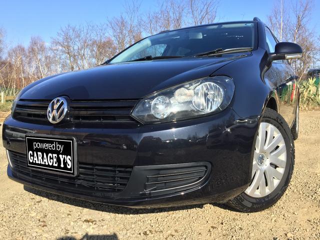 VW ゴルフヴァリアント 1.4TSI トレンドライン FF Tチェーン HDDナビ(フォルクスワーゲン)【中古】